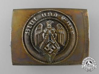 A Marine HJ Belt Buckle; Published Example