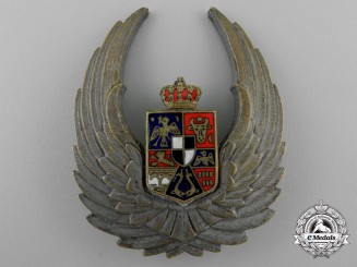 A Second War Romanian Air Force Observer's Badge (1940-1945)