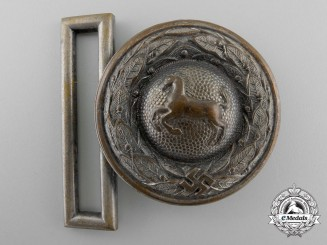 A Westfalen State Forestry Service Officer's Belt Buckle