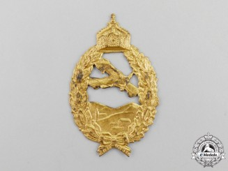 Germany, Imperial. A First War Pilot's Badge, Prinzen Size