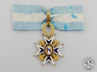 Spain, Kingdom. An Order of Charles III, 3rd Class Commander, c.1920