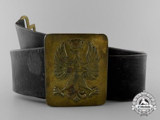A Spanish Civil War Army Belt with Buckle