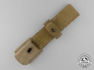 A German Army Afrika Korps Webbed Bayonet Frog