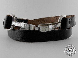 A German Leather Shoulder Strap