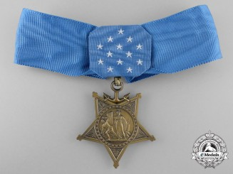 An American Navy Medal of Honor; West Germany Issue