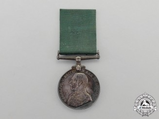 A Colonial Auxiliary Forces Long Service Medal Issued to the Argyll Light Infantry