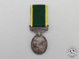 An Efficiency Medal to Company Quartermaster Sergeant G. Bayliss, Lorne Rifles