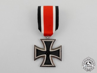 "A Scarce Thick Rounded ""3"" Version Iron Cross 1939 Second Class"