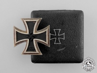 An Iron Cross 1939 First Class by Paul Meybauer in its Matching Case of Issue