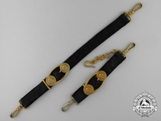 A Set of Kriegsmarine Officer's Dagger Hangers