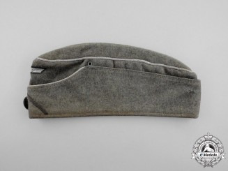 An Early Wehrmacht Heer (Army) Pioneer Officer's Overseas Cap