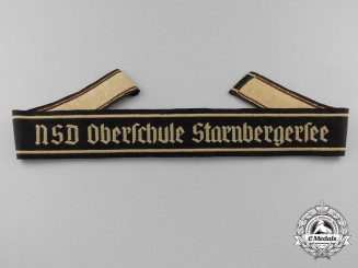 A Rare NSD Oberschule Starnbergersee Cufftitle
