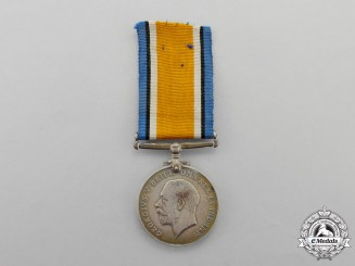 Canada. A British War Medal to McGill COTC Lieutenant  Heeney; Canadian Engineers