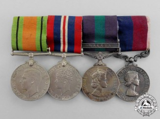 A Second War &  Malaya Service Royal Air Force Long Service Group G