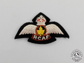 A Royal Canadian Air Force (RCAF) NATO Service Pilot's Badge, c. 1950s