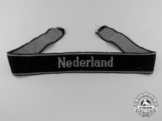 "A Waffen-SS ""Nederland"" Cufftitle"