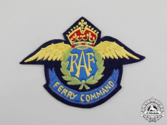 United Kingdom. A Royal Air Force (RAF) Ferry Command Blazer Crest, c.1945