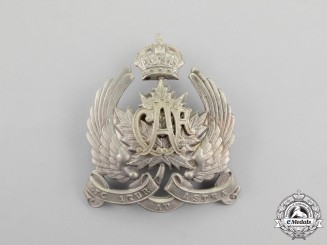 An Early 1920's Canadian Air Force (CAF) Field Service Cap Badge