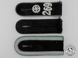 Three Second War German Shoulder Boards