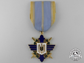 A Second War Romanian Order of Aeronautical Virtues (Merit)