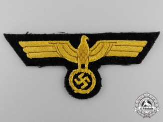 A Kriegsmarine Officer's Breast Eagle