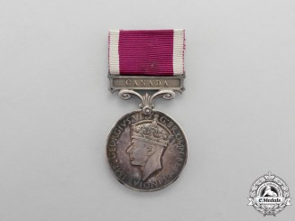 An Army Long Service & Good Conduct Medal to Sergeant Major Instructor T.L. Neal, Royal Canadian Artillery