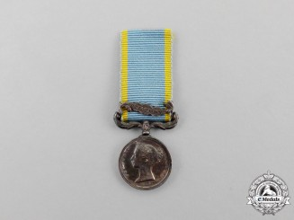 A Miniature British Crimea Medal 1854-1856