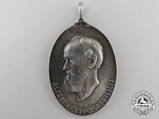A 100th Anniversary of the Birth of Alfred Krupp Commemorative Medal 1812-1912