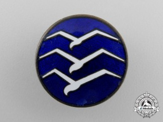A German Class C Gliders Badge; Numbered