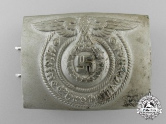 "An Early SS EM Belt Buckle by ""O & C ges. Gesch."""
