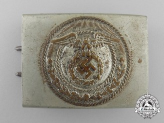 An Early NSFK Enlisted Man' s Belt Buckle