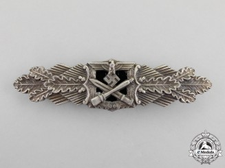 A Silver Grade Close Combat Clasp by C. E Juncker