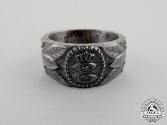 A First War German Elbasan 1943 Regimental Ring