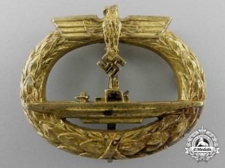 A Kriegsmarine Submarine Badge
