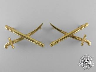 A Canadian General's Collar Insignia by W.Scully