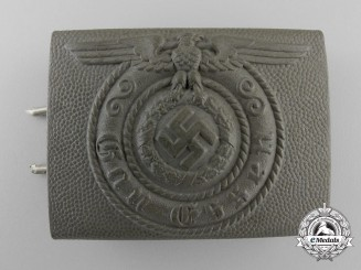 A Rare SS-Gau Essen Belt Buckle
