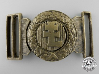 A Hungarian Levente Officer's Belt Buckle