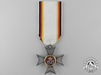 A Scarce 1854-1896 Waldeck Military Merit Cross; 1 of 111 Awarded
