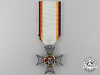 A Scarce 1854-1896 Waldeck Military Merit Cross; 1 of 111 Awarded