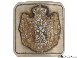 Officer's Belt Buckle c. 1900