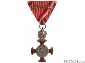 Silver Cross of Merit with Crown