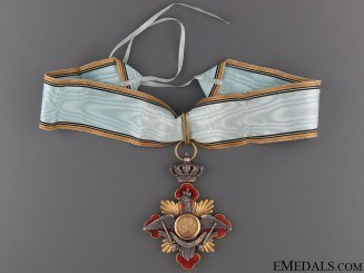 A Rare Romanian Order of Carol I; Commanders Neck Cross