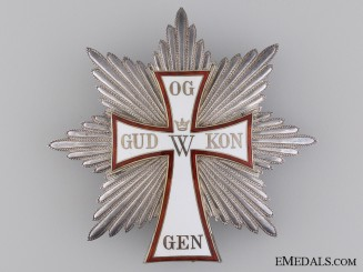 The Danish Order of Dannebrog; Grand Cross Star