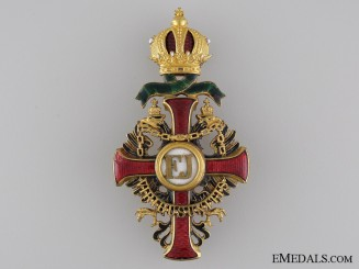 Order of Franz Joseph by Vinc Mayer: Officers Cross with War Decoration