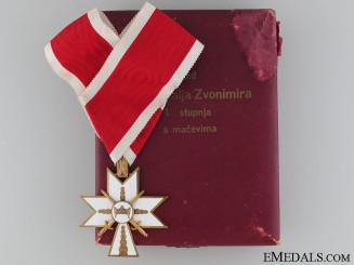 Order of King Zvonimir's Crown with Swords