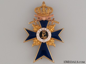 Order of Military Merit - Officer's Cross in Gold