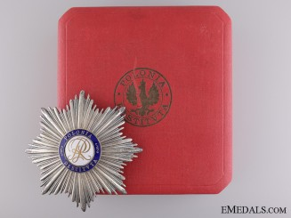An Order of Polonia Restituta; Breast Star c.1935