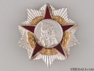 Order of Scanderbeg - Second Class