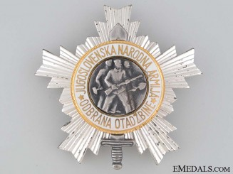 Order of the People's Army - 3rd Class
