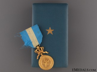 Order of the Star of Africa - Gold Grade Medal